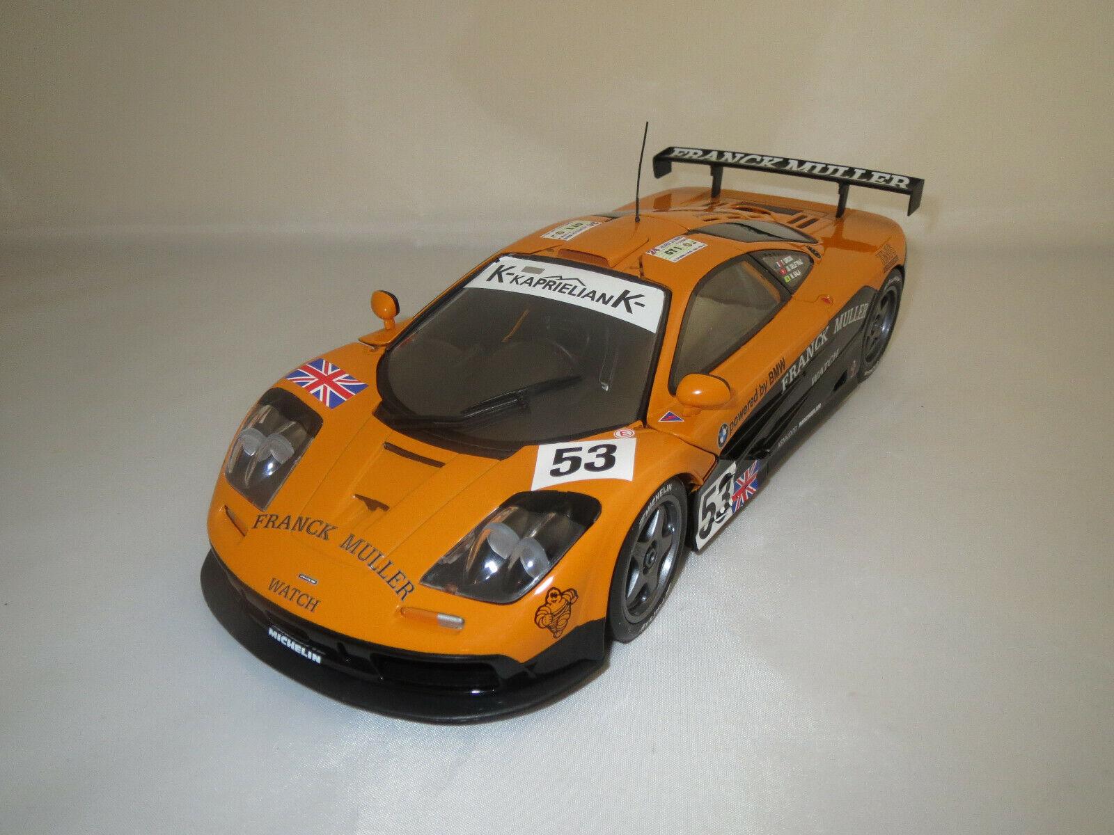 UT Models  McLaren F1 GTR   F.Muller   (Giroix Deletraz Sala  53) 1 18 ohne Vp.