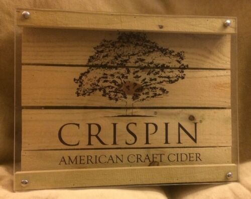 Crispin American Crafted Cider LED Lighted Beer Sign Brand New