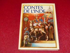 CONTES-DE-L-039-INDE-Beau-Livre-Illustre-VLADIMIR-TESAR-Grund-1977-Vladimir-MILTNER