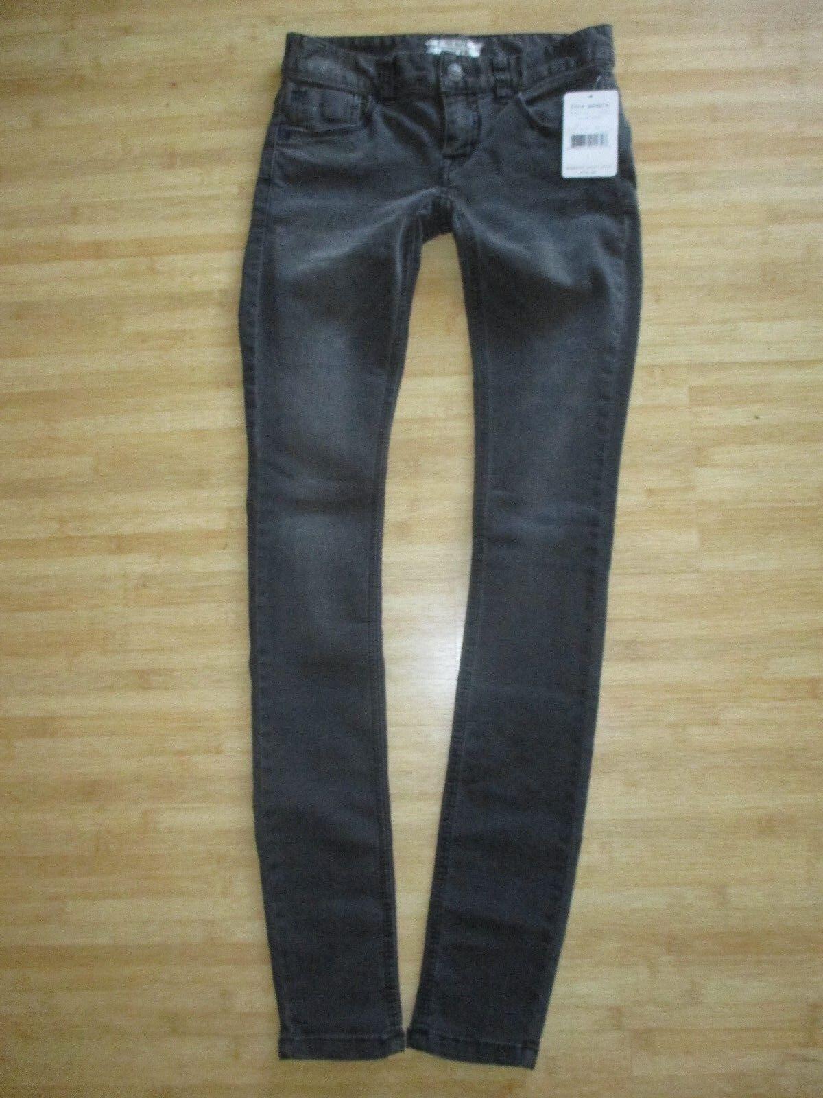 NEW  Free People LADIES 24 SKINNY JEANS PANTS  78 Retail Dark Grey