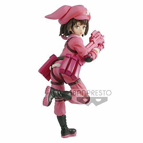 "Pink Banpresto Sword Art Online Alternative ""Gun Gale Online"" Llenn Figure"