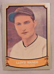 Details About Lloyd Waner Pirates 1988 Pacific Legends Baseball Card