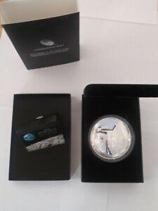 2019 Apollo 11 50th Anniversary 5 oz Silver Proof Coin with Box and COA