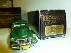 Le Cast 1/43 Chevrolet Fleetline Aero Berlina 1948 Brooklyn Brk50 001 Vert
