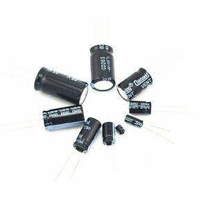 50pcs Panasonic SU Series 33uF//35V Electrolytic Capacitor