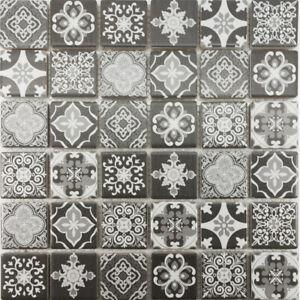 Mosaic Tile Shower Wall Backsplash
