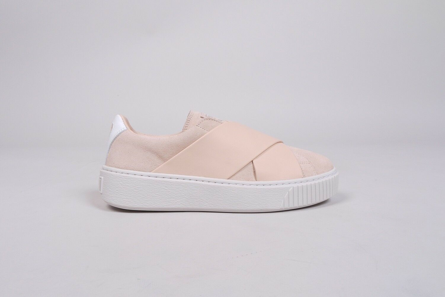 Puma Platform x Strap cortos señora zapatos us 9 Cream tan Rihanna