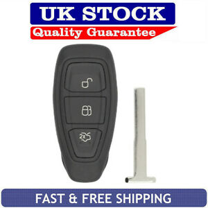 Ford-3-Button-Remote-Key-Fob-Case-Fits-Fiesta-Focus-Kuga-Mondeo-Galaxy-C-Max
