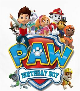 Paw Patrol Shirt Design