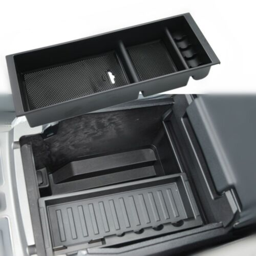 Center Console Tray Device Organized Storage Box For Ford F150 2015-2018