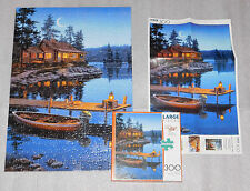Crescent Moon Bay Darrell Bush Jigsaw Puzzle 300 Pieces 21 x 15 Buffalo 14+