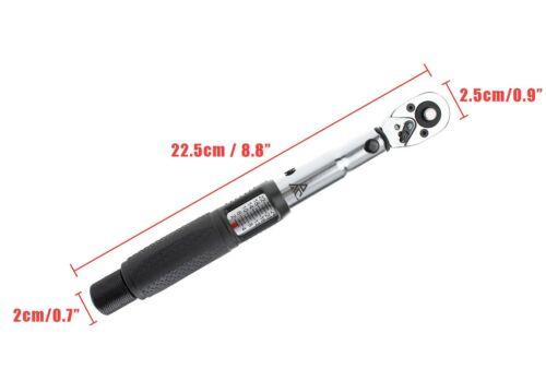 """BikeTool Best Road Mountain E-Bike Bicycle Bike Torque Wrench Set 1//4/"""" Black"""