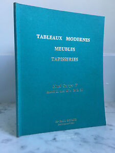 Catalogue Di Vendita Lavagna Moderno Mobili Arazzi 21 Mai 1974