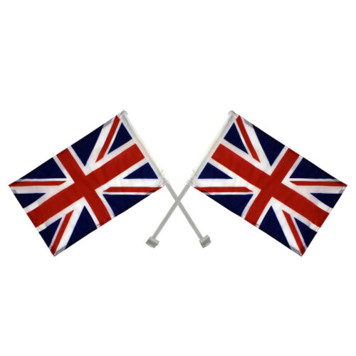 Union Jack Window Car Flags United Kingdom Great Britain Team GB England Olympic