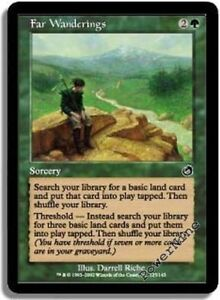 Green Torment Mtg Magic Common 1x x1 1 FOIL Far Wanderings