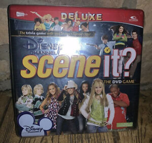Scene-It-Disney-Channel-DVD-Game-Deluxe-Trivia-2008-Collectible-Tin-Sealed