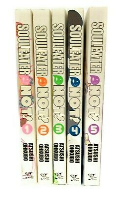 English Manga Graphic Novels Set Lot NEW Soul Eater NOT! Vol. 1-5
