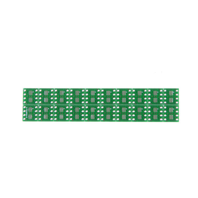 20 PCS SOP8 SO8 SOIC8 SMD to DIP8 Adapter PCB Board Convertor Double Sides KQ