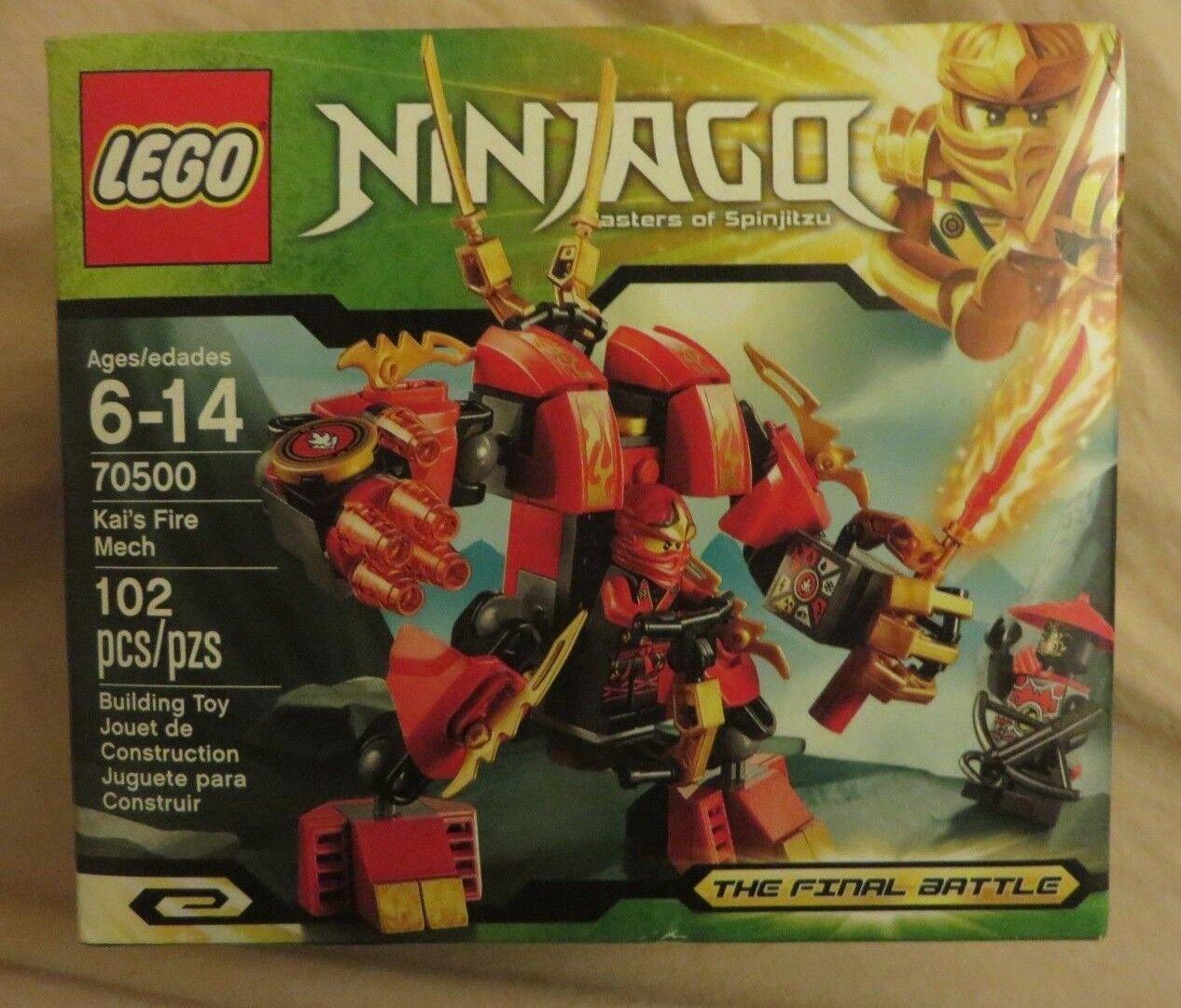 Lego 70500 - Ninjago - Kai's Fire Mech -  RetiROT - NISB