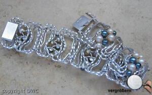 Perlenarmbaender-Perlenarmband-Silber-Armband-925-Silber-Armbaender-Perlen-Perle