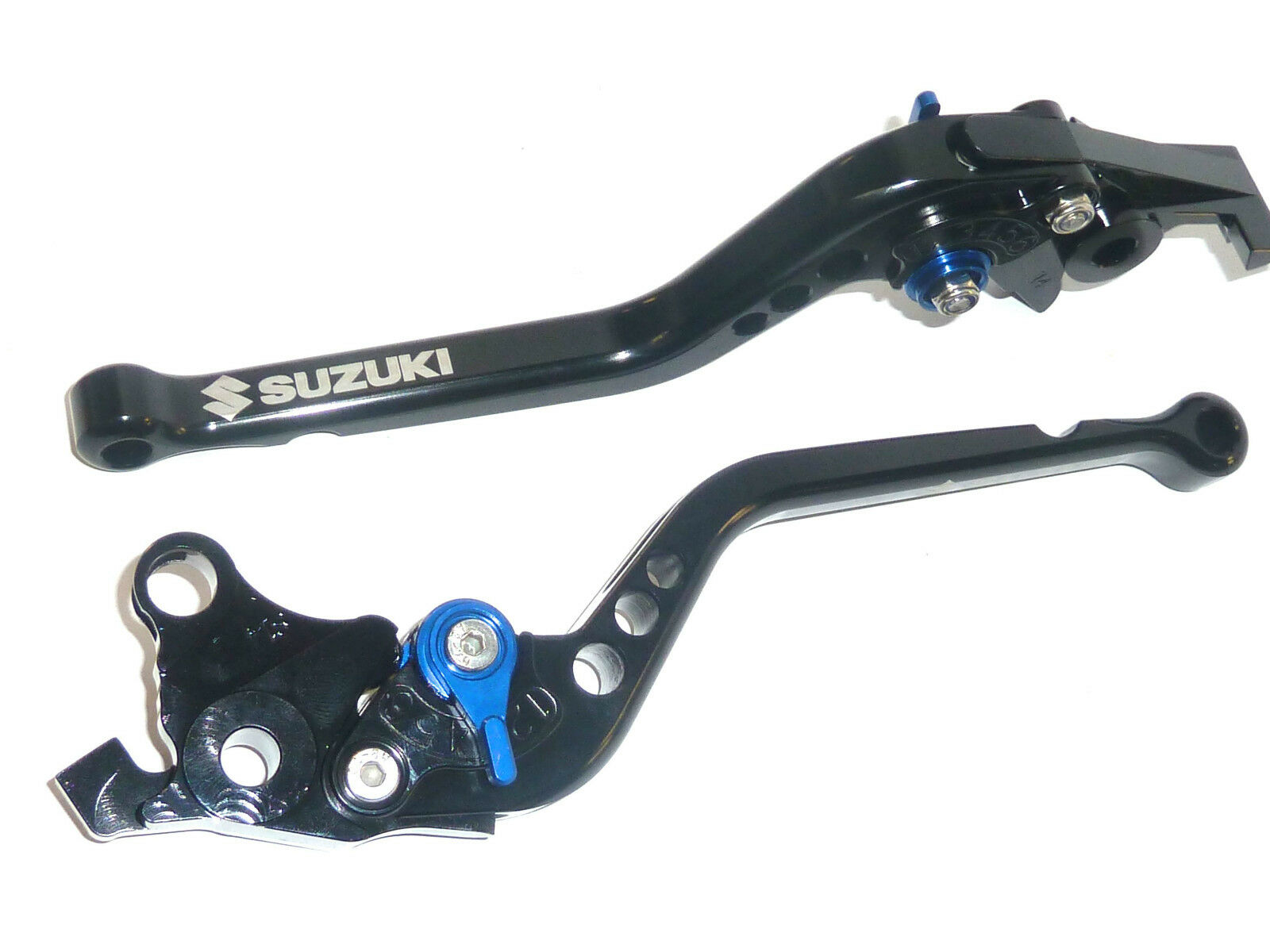 Suzuki Gsx650f Gsx650f Gsx650f 2008-2015 Lang Schwarz Bremse und Kupplungshebel Satz eb90c0
