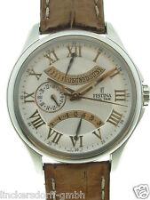 FESTINA COSMOPOLITE DUAL-TIME F16275 STAHL CA. 2000