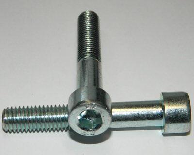 Zylinderschraube Innensechskant M6x45 DIN 912 Stahl verzinkt M6 Schaftschraube