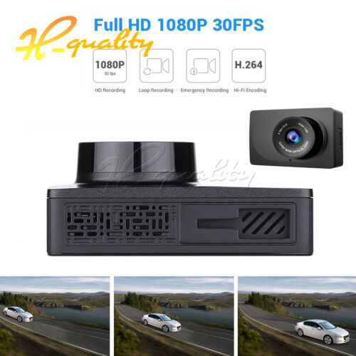 "Xiaomi Yi 2.7/"" LCD HD 1080P WIFI Smart Car Camera Dash Cam Video DVR"