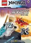 LEGO? Ninjago: Ready, Steady, Stick! Activity Book by Ladybird (Paperback, 2014)