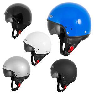 Casque-Moto-Scooter-Vespa-Jet-Visiere-pare-soleil-ECE-22-Blanc-SonicMoto