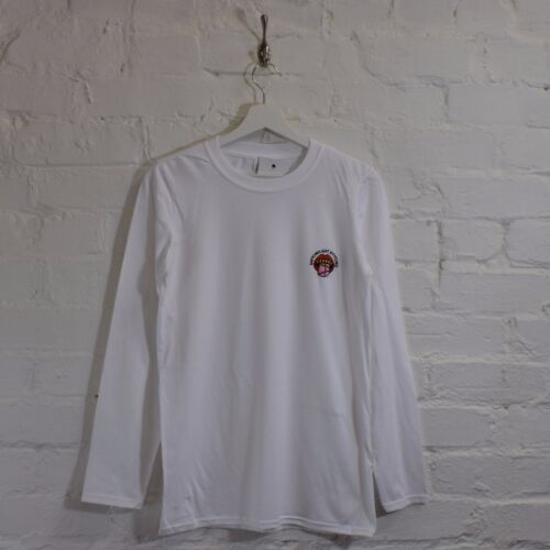 Snitches get Stitches White Urban Street Long Sleeve Tee T-shirt by Actual Fact