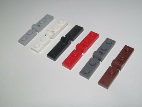 Lego ® Plaque Pince 1x2 Tile Plate Clip Horizontal Choose Color 63868 60478