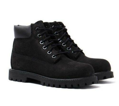 Boots Uk10 Toddlers 6 New Nubuck Premium Shoes Infant Boys Black pulgadas Timberland zwq6ZHPqF