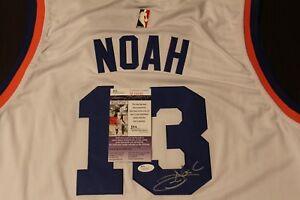 Joakin Noah NBA Signed New York Knicks Jersey COA JSA Signature  475481990