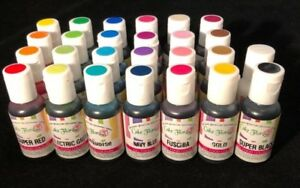 Details about Halal/Kosher Concentrated soft gel paste food colouring &  edible paint 0.75oz