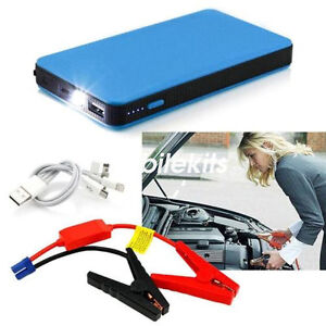 20000mah voiture jump starter portable batterie chargeur booster pack de banque ebay. Black Bedroom Furniture Sets. Home Design Ideas