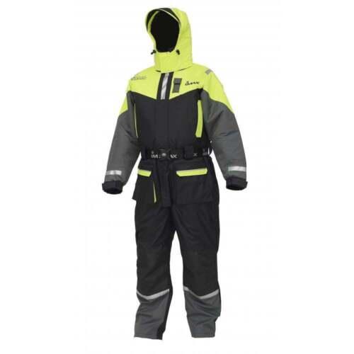 2 piece All Sizes Imax SEAWAVE FLOATATION SUIT Jacket /& Bib /& Braces