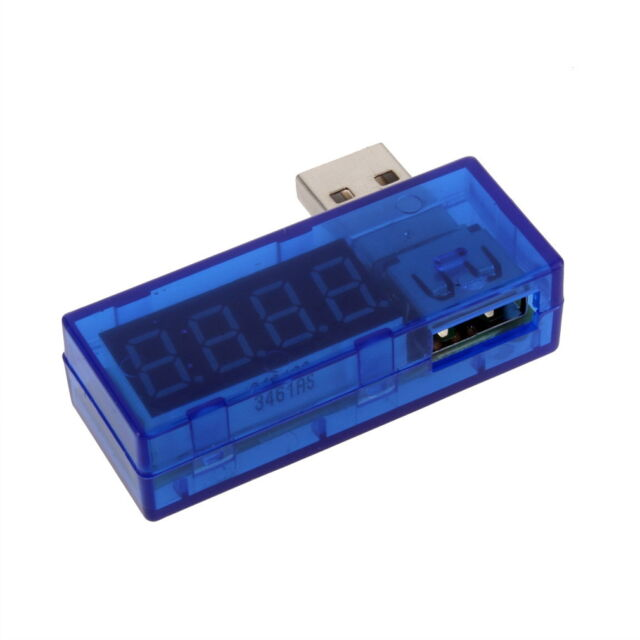 USB Power Current and Voltage Tester USB Mobile Power Current Test HP