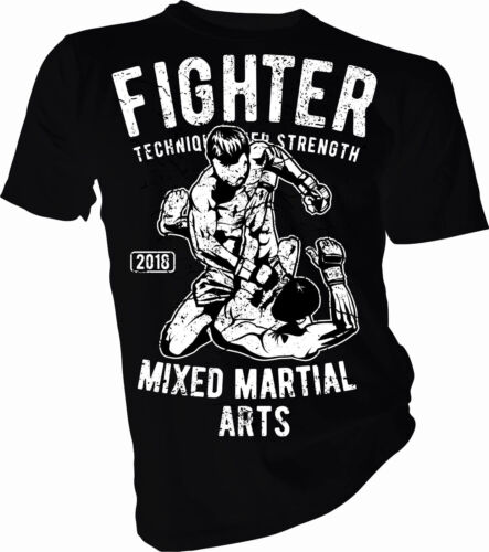 Cage Fighter Martial Arts Adult /& Kids T-Shirt Boxing Fight Fighter MMA UFC