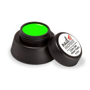 Color Gel Neon Toxic Farbgel Uv Gel Nageldesign Neongrun Grun Green
