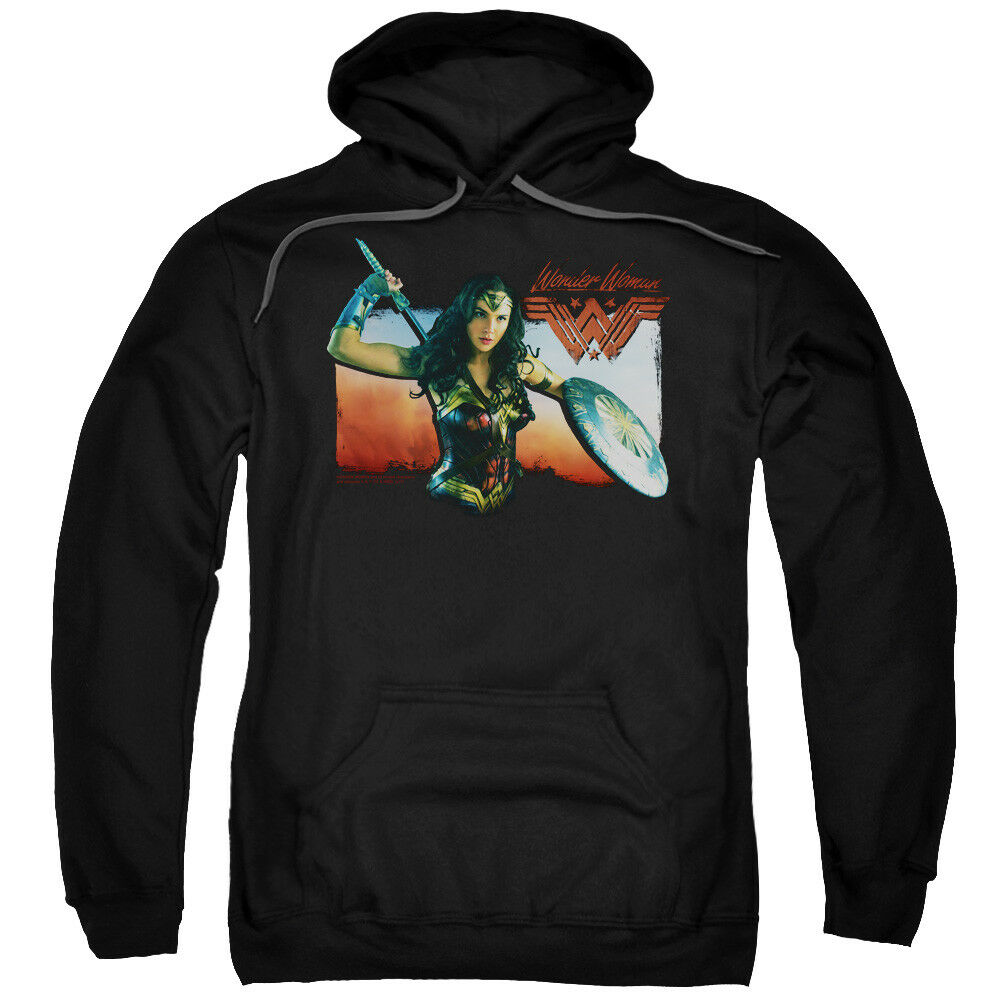 Wonder Woman Movie Warrior Woman Pullover Hoodies for Men or Kids