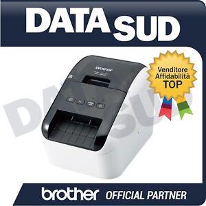 BROTHER-STAMPANTE-DI-ETICHETTE-ELETTRONICA-QL-800-USB-STAMPA-IN-NERO-E-IN-ROSSO