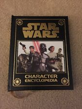 NEW Star Wars Character Encyclopedia Easton Leather Bound 2011 DK Book Han Solo