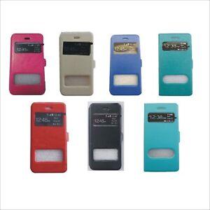 iphone-5-5S-Handytasche-Schutz-Huelle-Flip-Case-Etui-Bumper-Leder-Tasche-Fenster