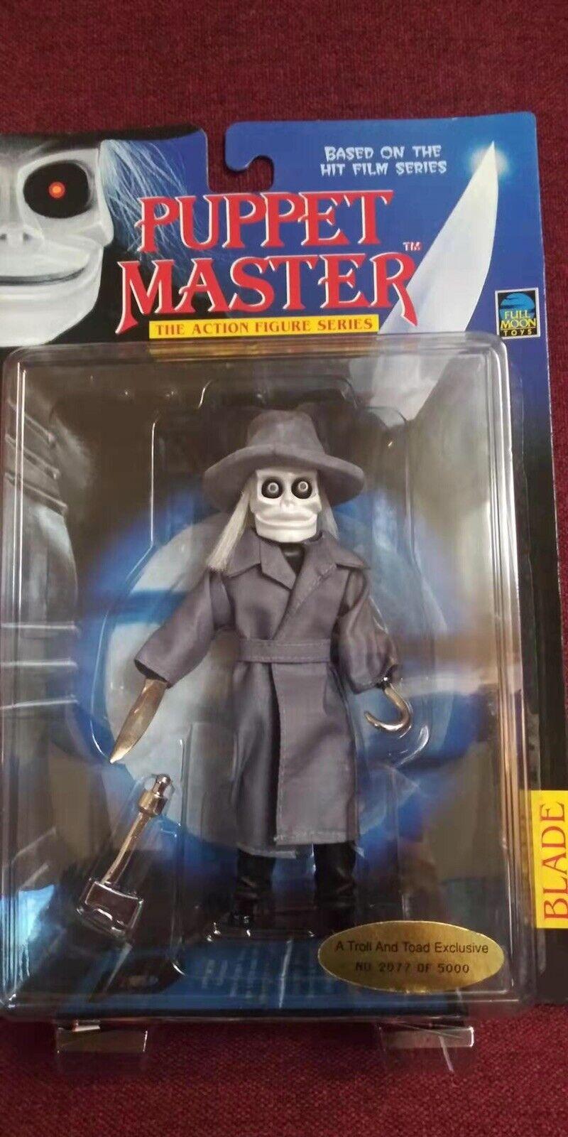 Moon Juguetes 1998 marioneta Master Full Toad y Troll exclusivo Hoja acción Fig jsh
