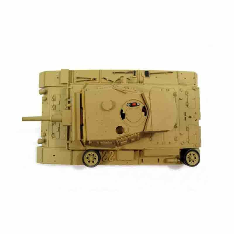 2HL Replacement Plastic Upper Hull With Turret For 1 16 RC 3858-1 Panzer IV Tank