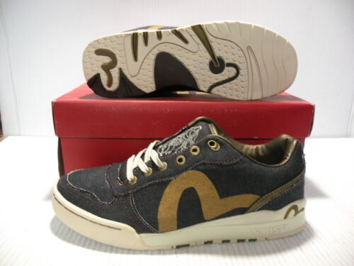 Evisu Jeansorov117056 basse Sneakers 12 Scarpe Nuovo Taglia Denim Genius Uomo yNn0PvwmO8