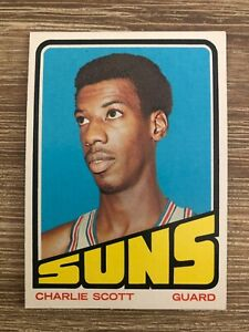 1972-73 Topps CHARLIE SCOTT Card #47; Excellent Condition