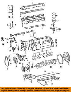 mercedes mercedes benz oem 1991 350sdl camshaft cam 6030500701 ebay rh ebay com 1990 350SDL 1990 350SDL