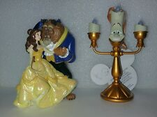 Disney Belle Beauty And The Beast Lumiere Light Up Candle Christmas Ornaments